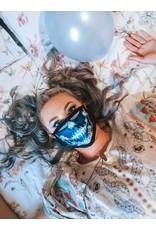 Catherine Eager Art  Cala Lips Calvera - Blue