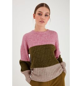 ICHI Amara Long Sleeved Rib Knit