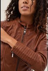Salsa Jeans Basic Leather Jacket
