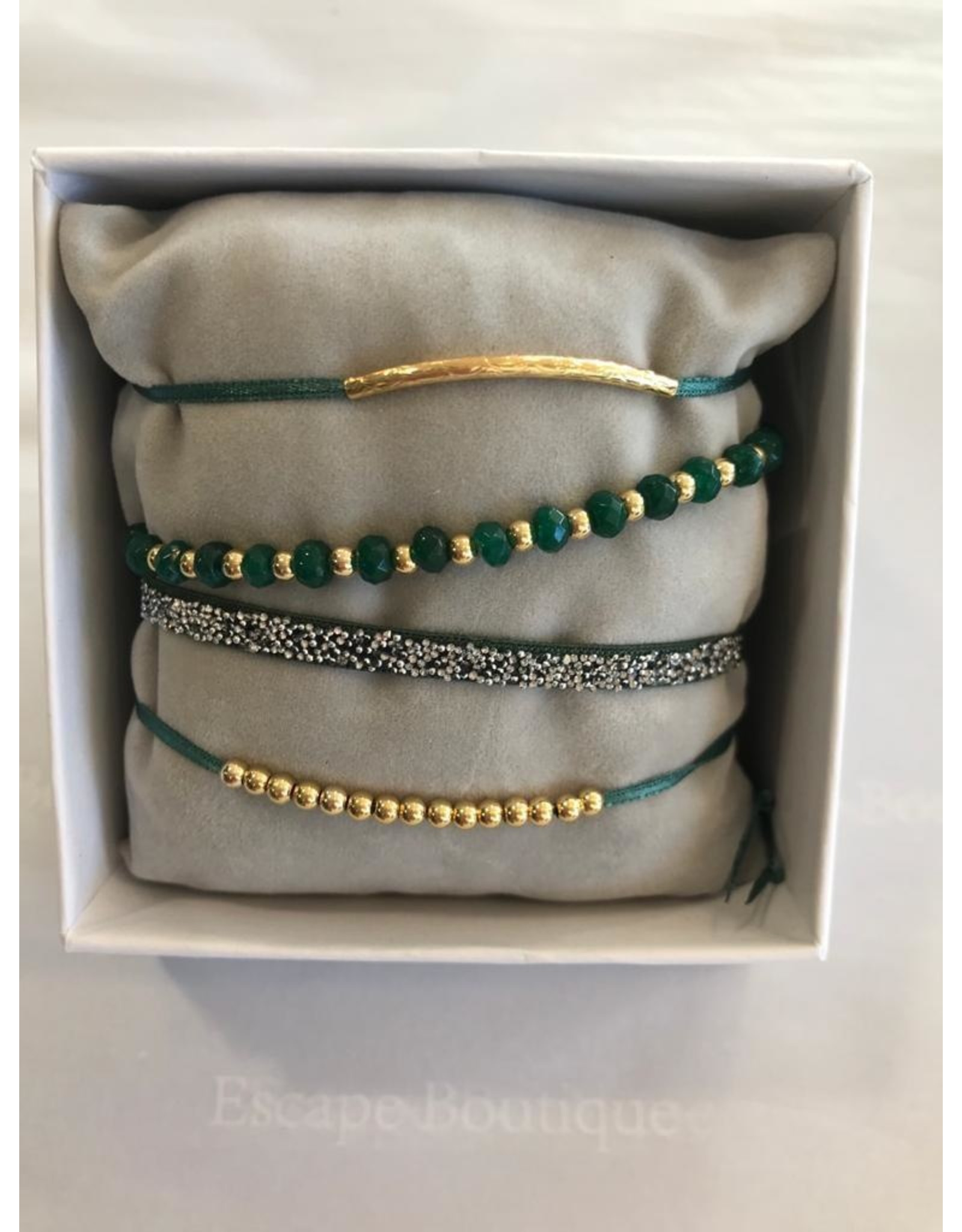 Les Interchangeables Les Interchageables - Strass Box Malicieuse gold