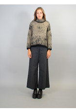 Humility Speckled Chunky Polo Knit