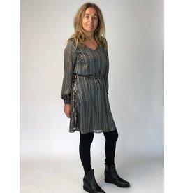 La Fee Maraboutee Chain Print Dress