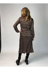 La Fee Maraboutee Black Printed Button Through Shirt Dress