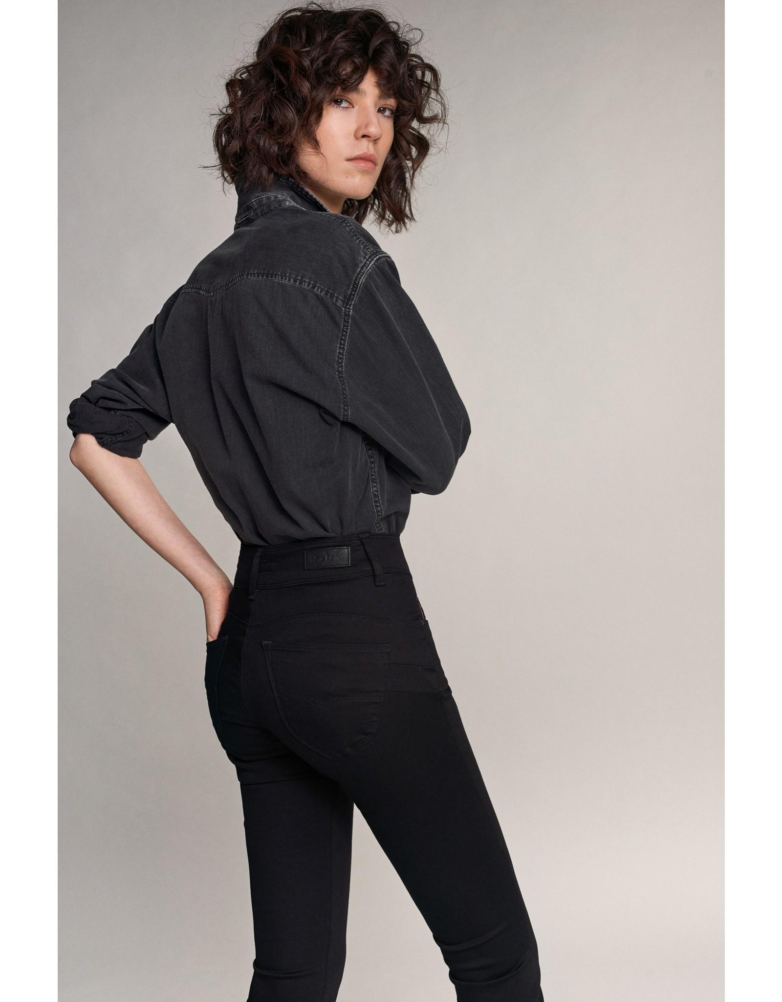 Salsa Jeans Push In Secret Skinny True Black Jeans