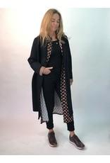 La Fee Maraboutee Black Neoprene Manuteau Coat