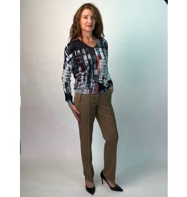 Peruzzi Straight Leg Trousers
