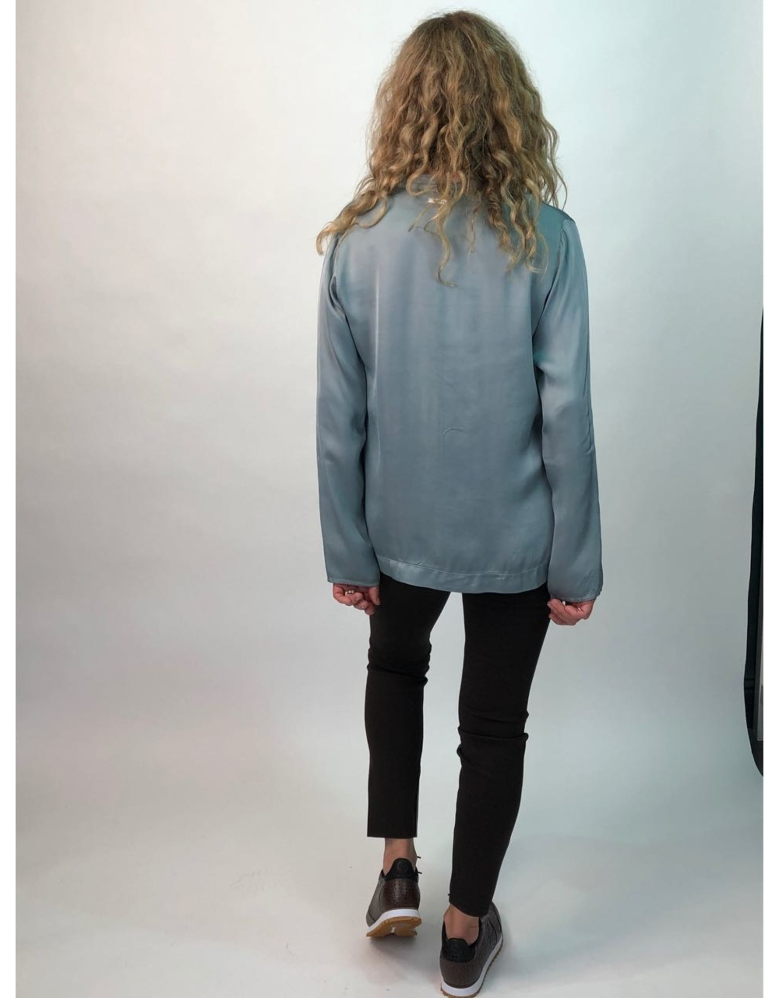Humility Silk Touch Satin Finish Blouse