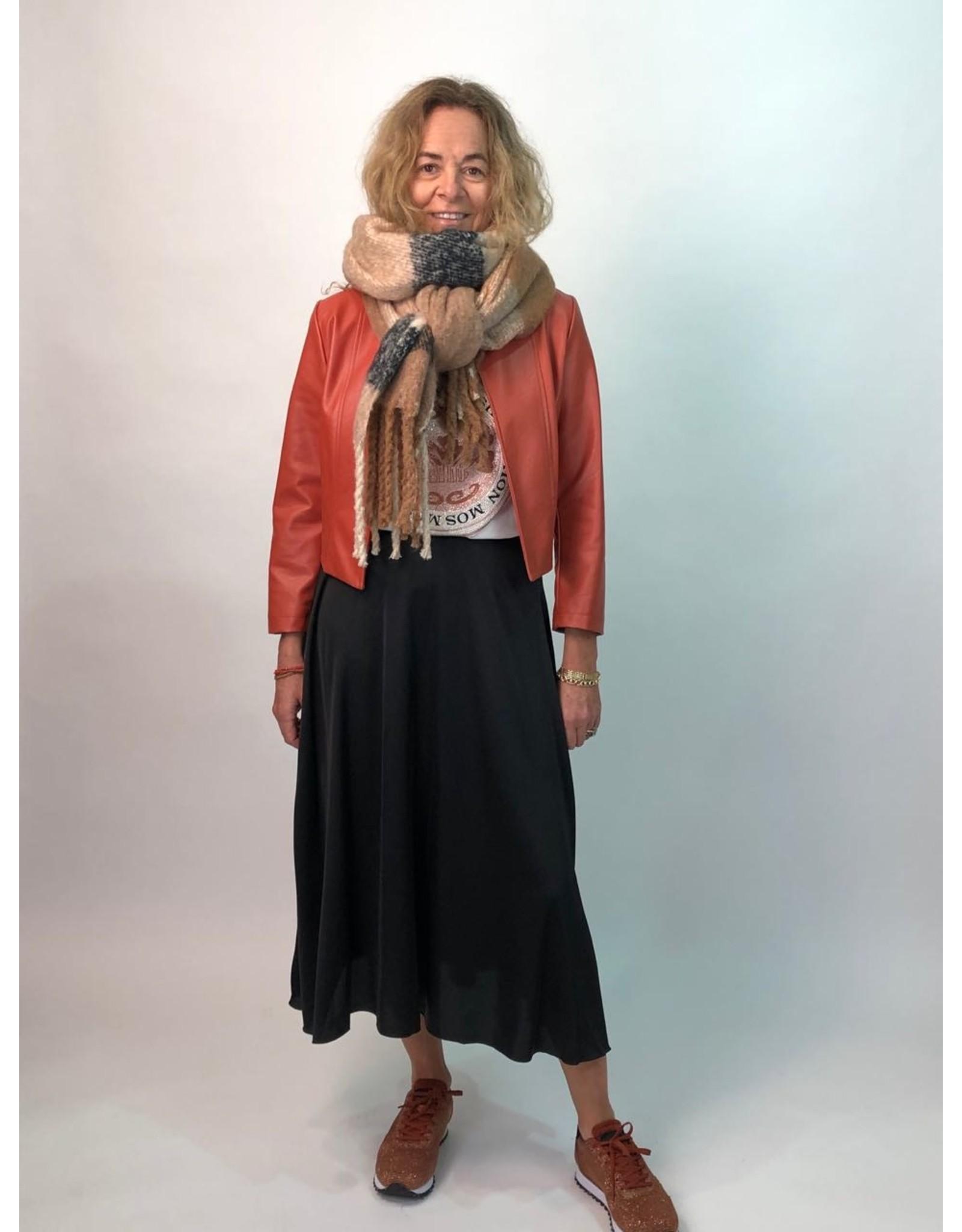La Fee Maraboutee Long Black Flowing Skirt