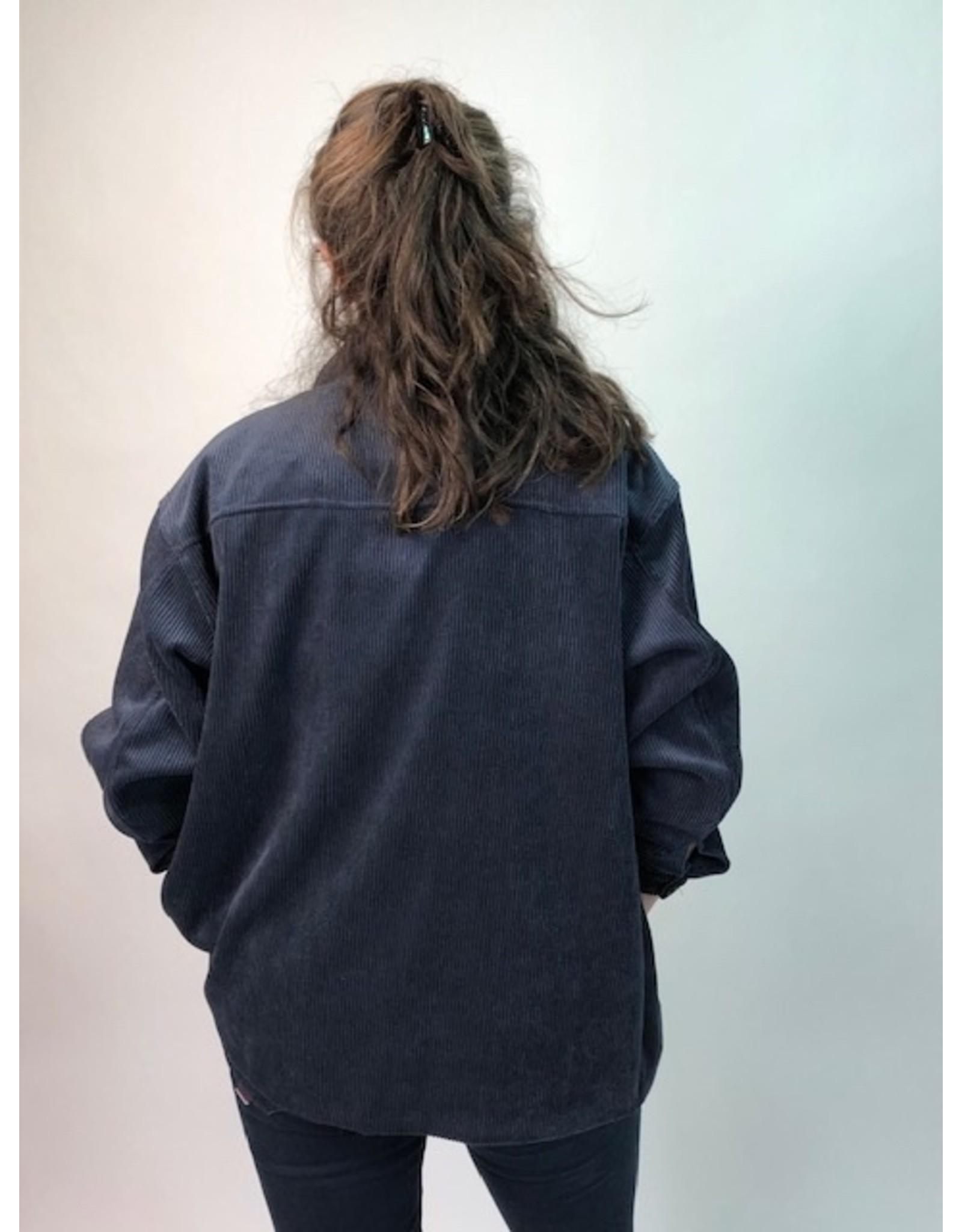 La Fee Maraboutee Cord Oversized Shirt Jacket