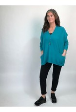 Loose Oversize Knit with Pockets