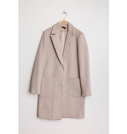 PARIS ES'TYL Wool Mix Car Coat