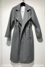 PARIS ES'TYL Coat with drawstring