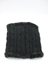 PARIS ES'TYL Cable Stitch Fleece Lined Snood