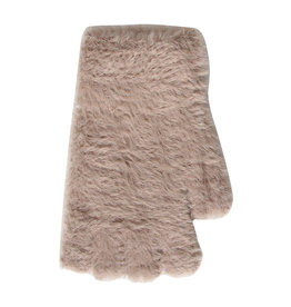 PARIS ES'TYL Faux Fur Fingerless Gloves
