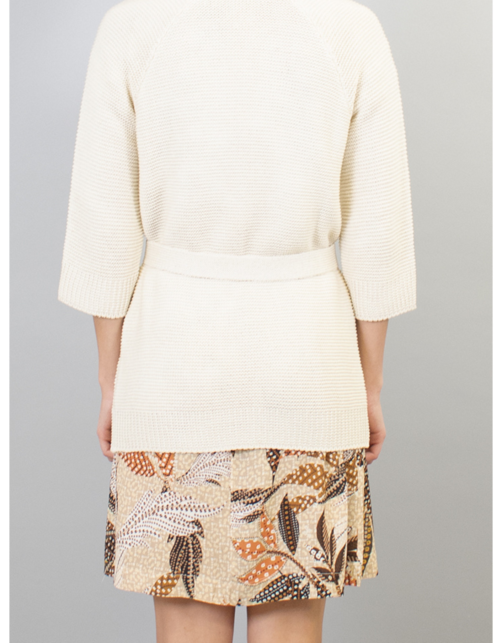 La Fee Maraboutee Knitted Belted Cardi Jacket