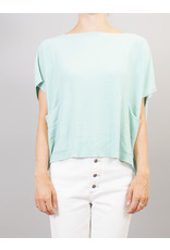 La Fee Maraboutee Short Sleeve Knitted Top