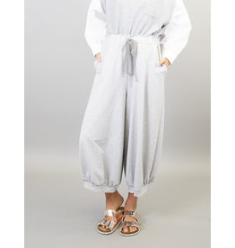 Humility Culotte Style Lounge Pants with Tie waist and Gathered Cuff