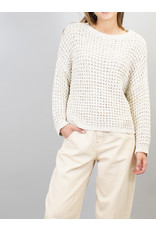 Humility Honeycomb knitted jumper