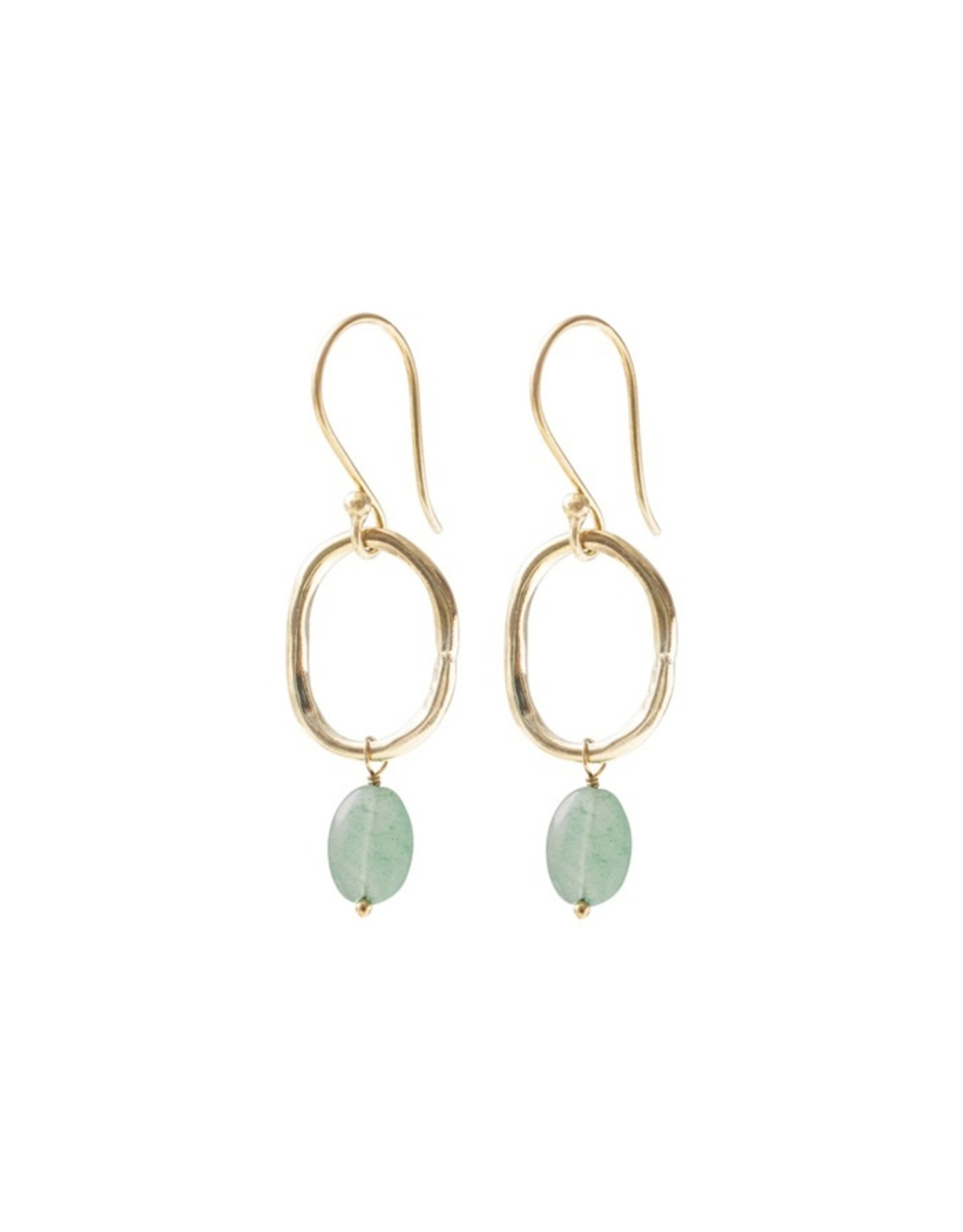 A beautiful Story Graceful Gold Plated Earrings