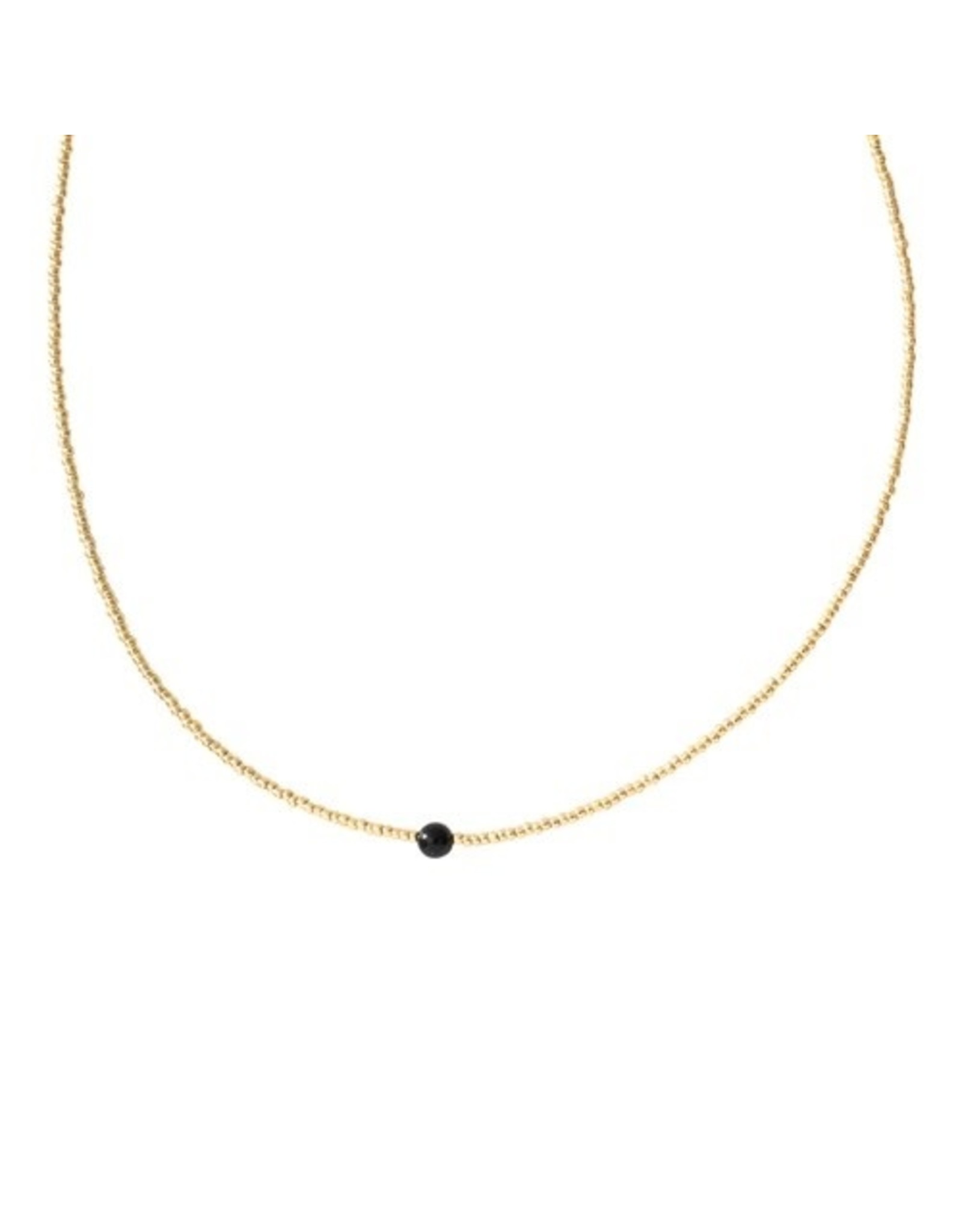 A beautiful Story A Beautiful Story - Flora Gold Plated Necklace