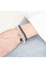 A beautiful Story Jacky Silver Plated Bracelet