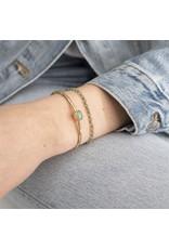 A beautiful Story Gold Plated Beautiful Bracelet