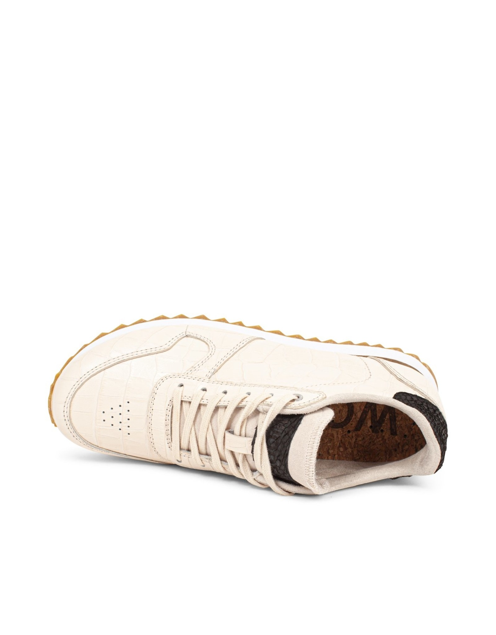 Woden Ydun Croco Shiny Trainer Leather
