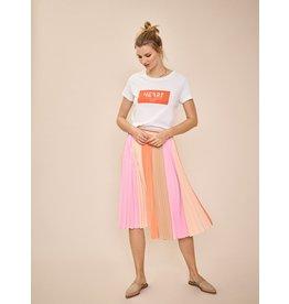 Mos Mosh Block Plisse Skirt