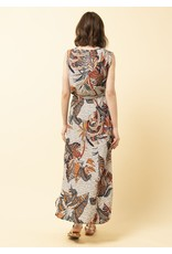 La Fee Maraboutee Bird Of Paradise Sleeveless Long Dress