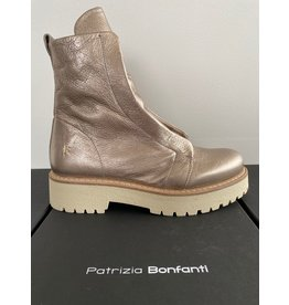 Patrizia Bonfanti Kuni Champagne Metallic Boots