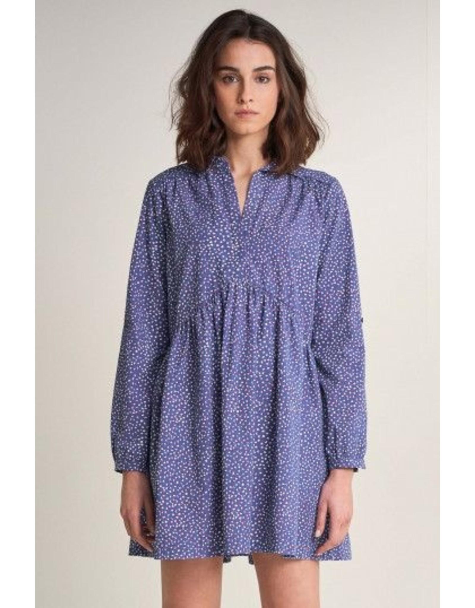 Salsa Jeans Cotton Dress With Print Design