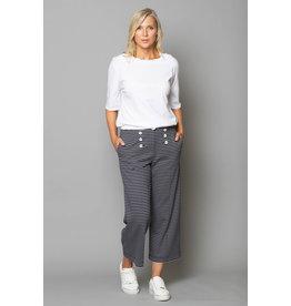 Peruzzi Crop Stripe Trouser
