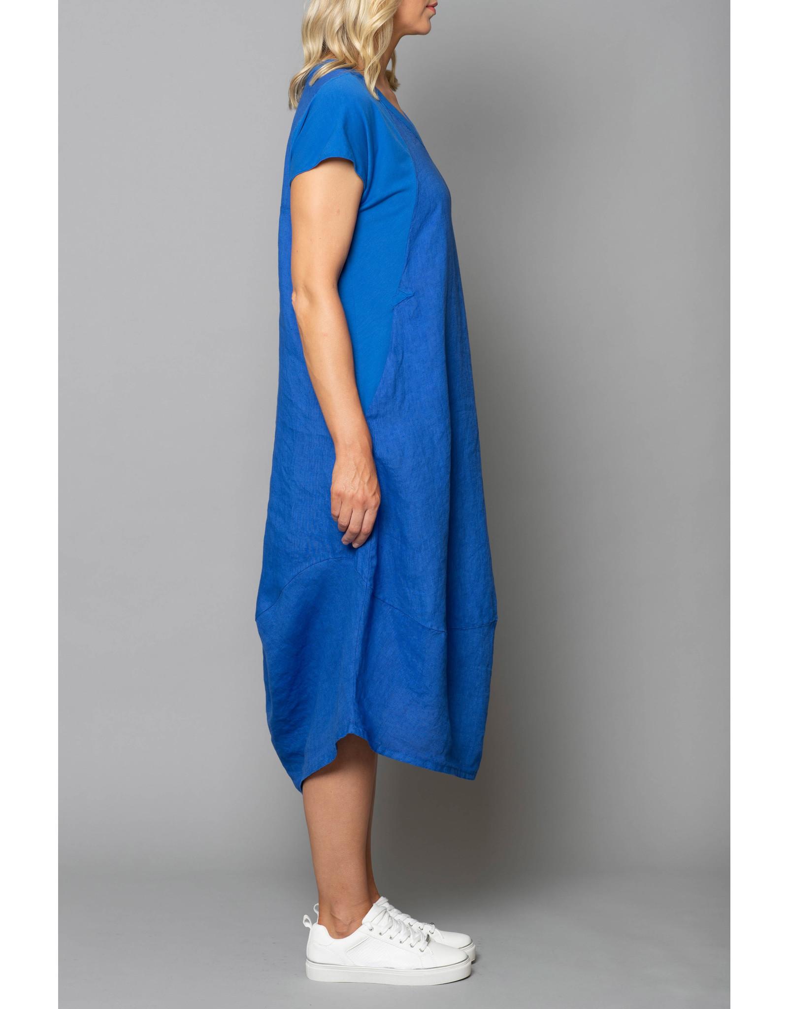 Peruzzi Jersey Shoulder Dress