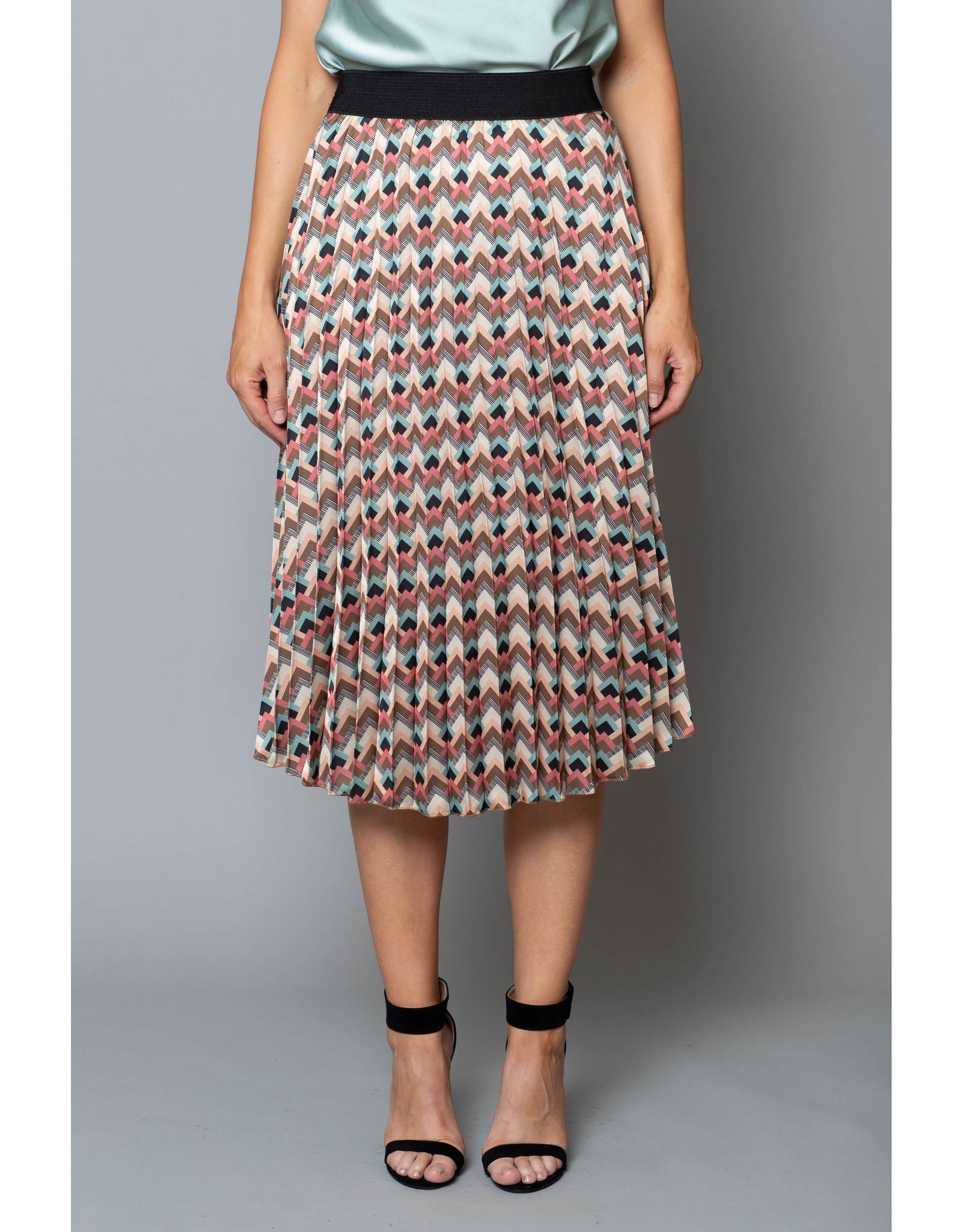 Peruzzi Print Skirt