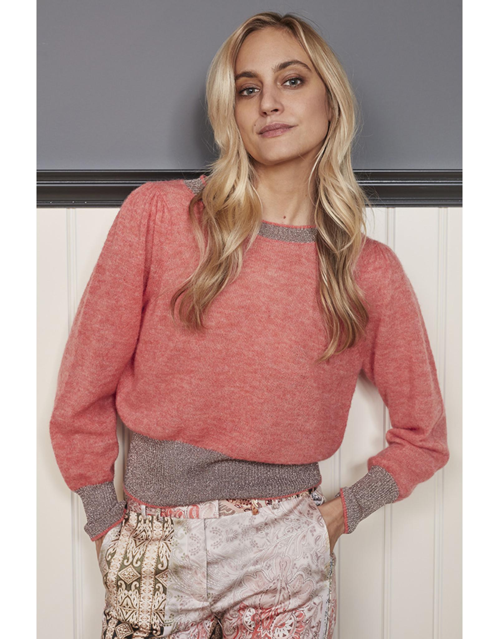 Gustav Inoa knit w. puff sleeves