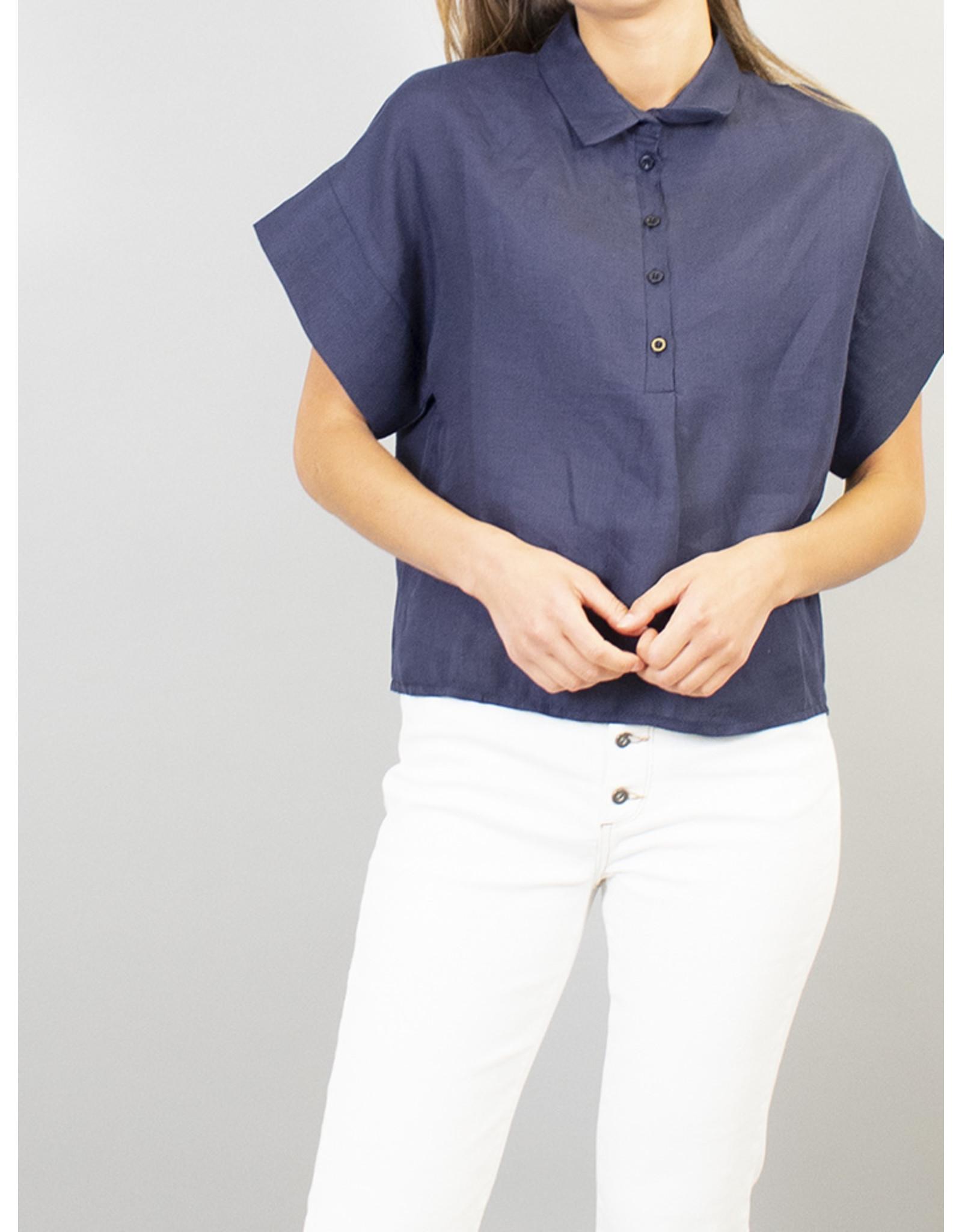 La Fee Maraboutee Short Sleeve Oversize Shirt
