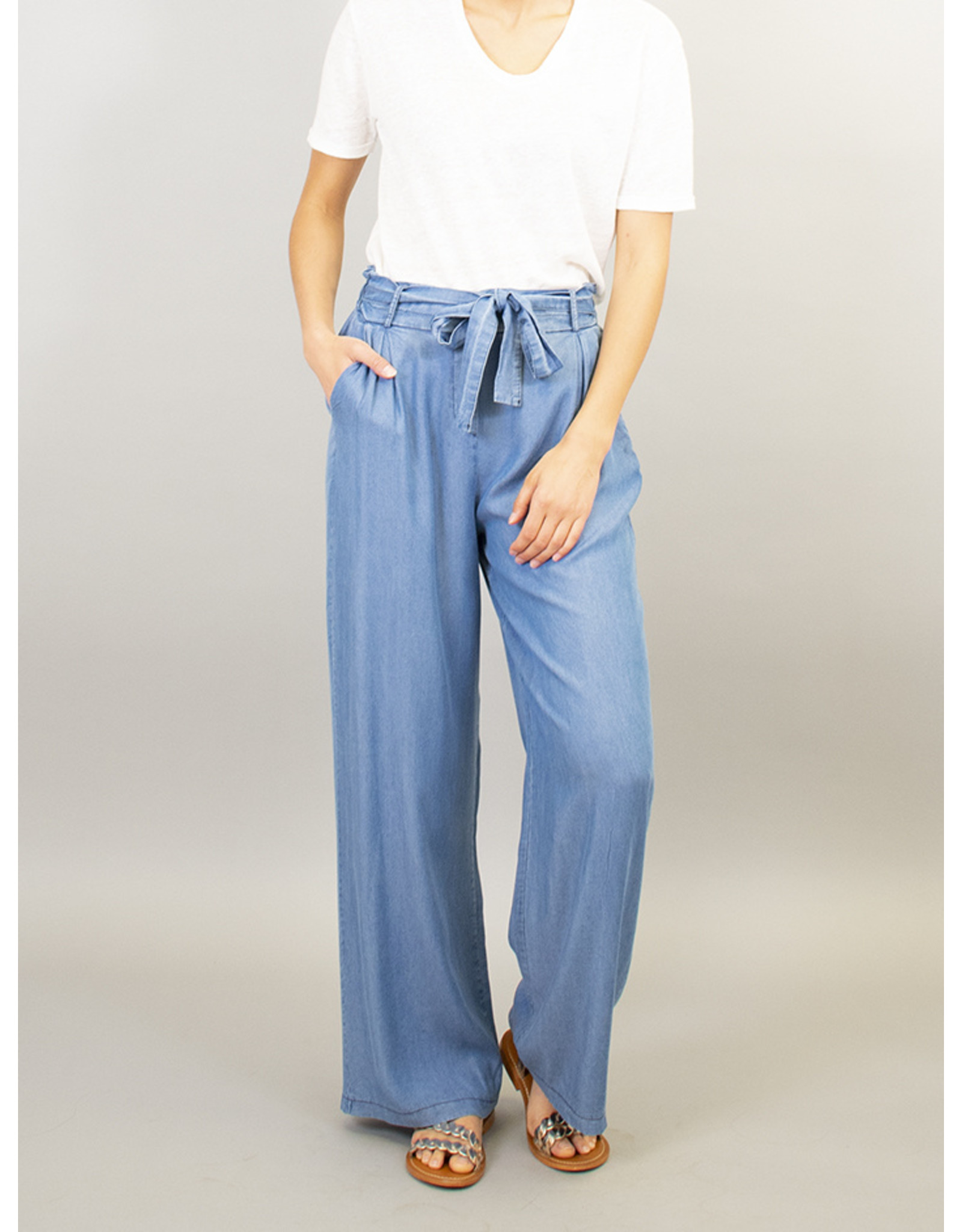 La Fee Maraboutee Tie Waisted Jeans Trouser