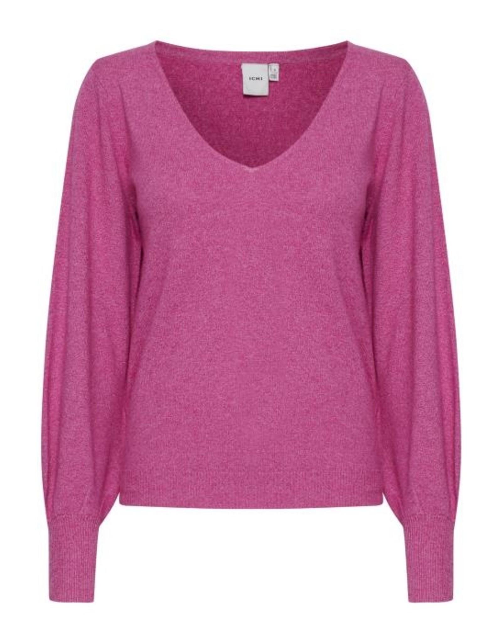 ICHI Halpa Long Sleeve V knit