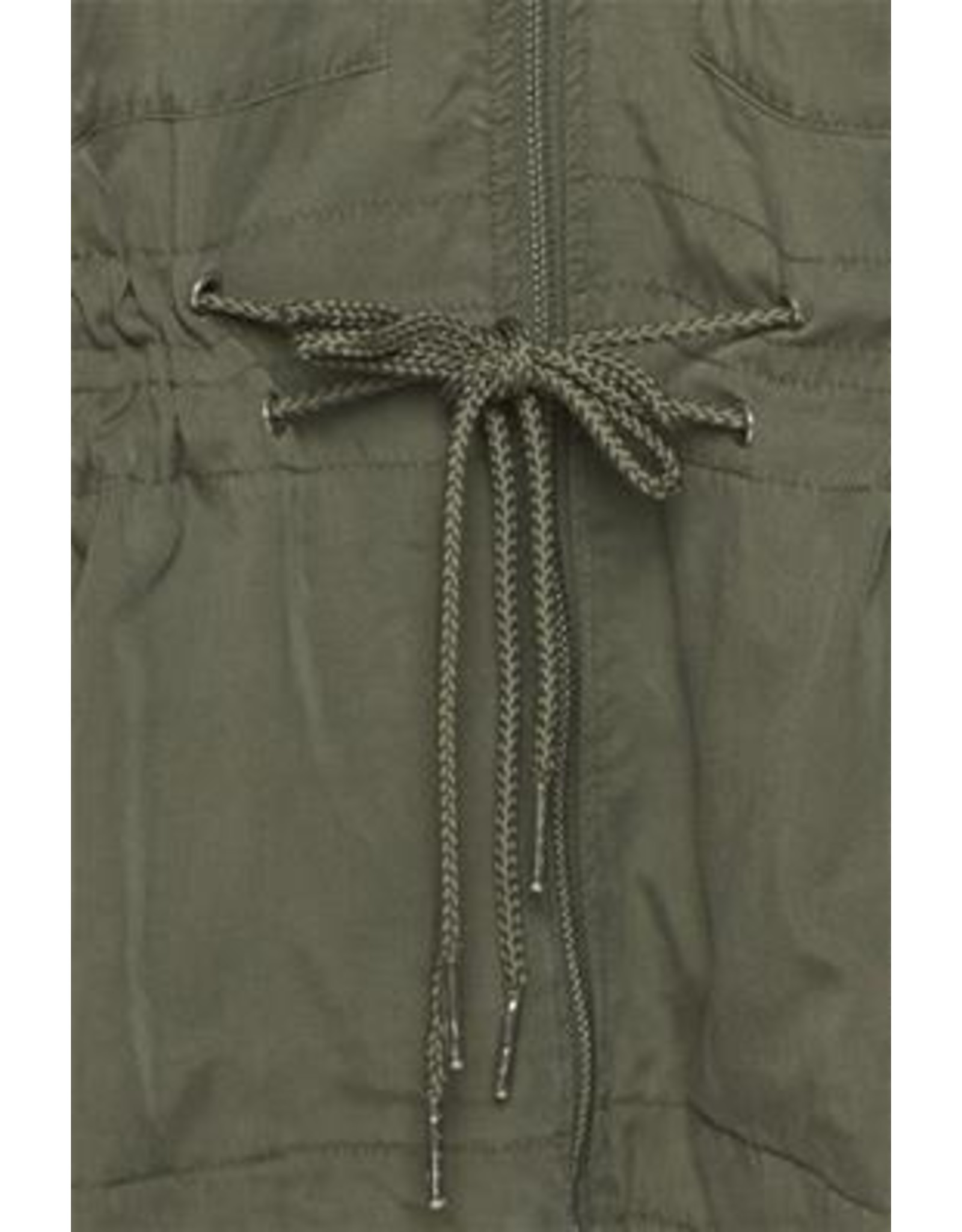 ICHI Grazie Jacket with zip and pull strings