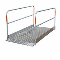 Loopbrug Aluminium 170cm