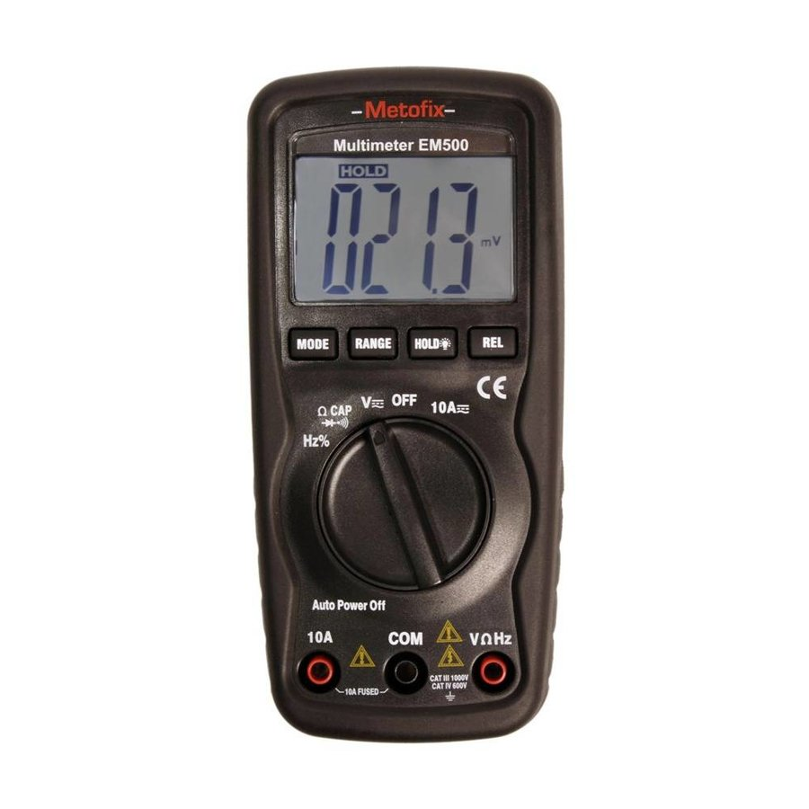 Digitale multimeter EM500