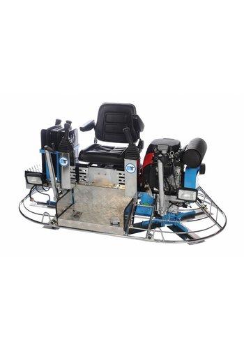 Beton Trowel Truelle double essence avec direction hydraulique BT900HH24L