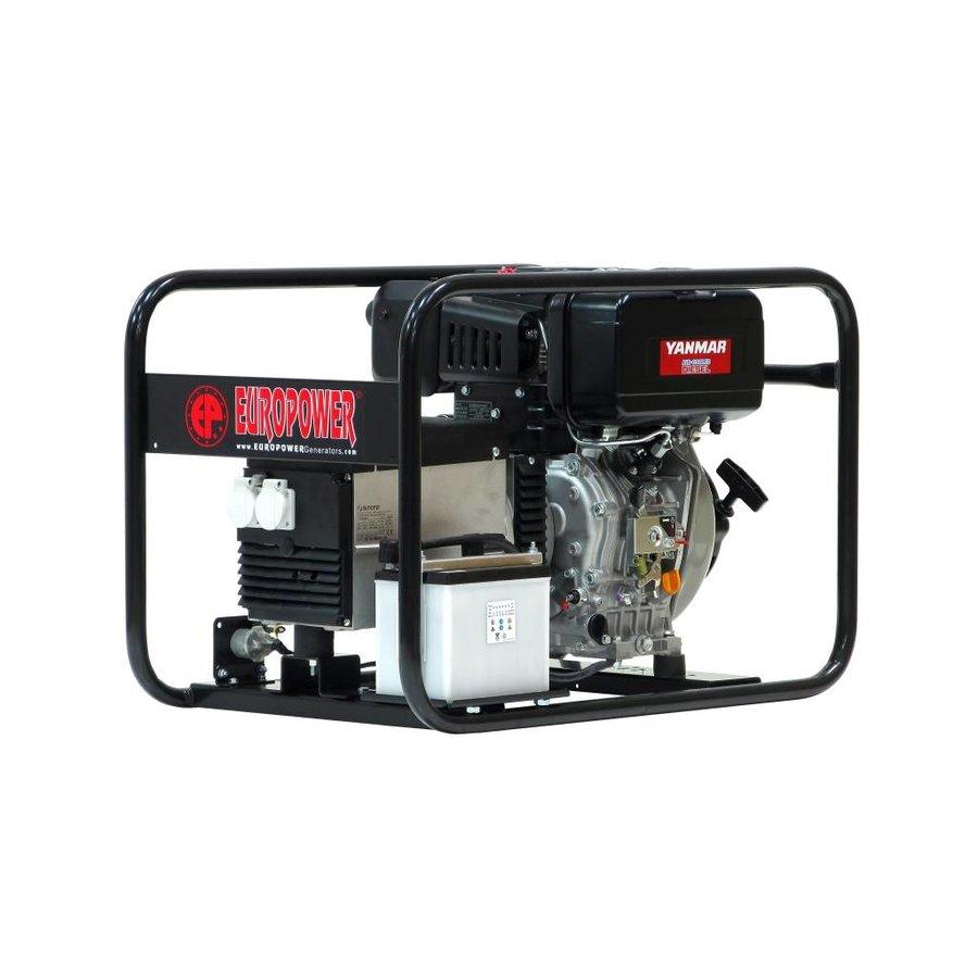 Groupe électrogène diesel EP6000DE