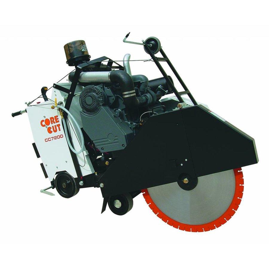 Vloerzaagmachine diesel CC7200D