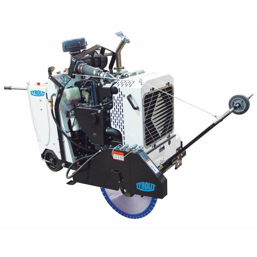 Vloerzaagmachine diesel CC6571D
