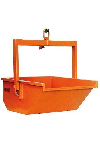 ABM Volledig automatische puinbak - 600 l of 1.000 l