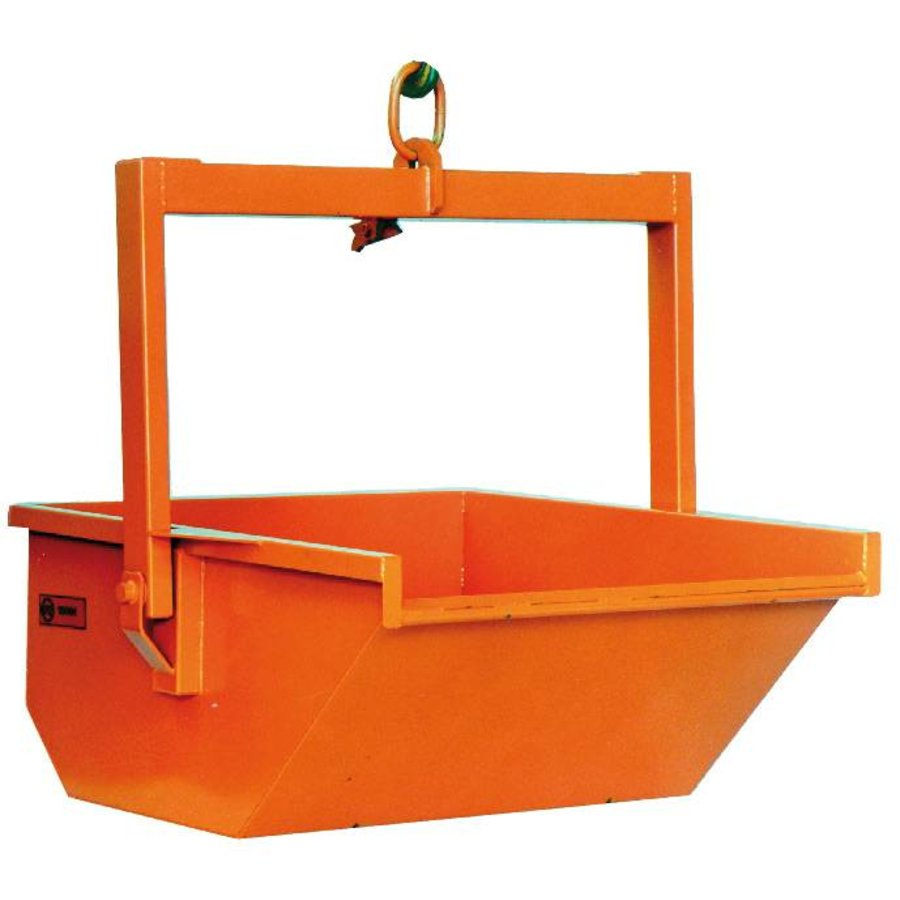 Volledig automatische puinbak - 600 l of 1.000 l