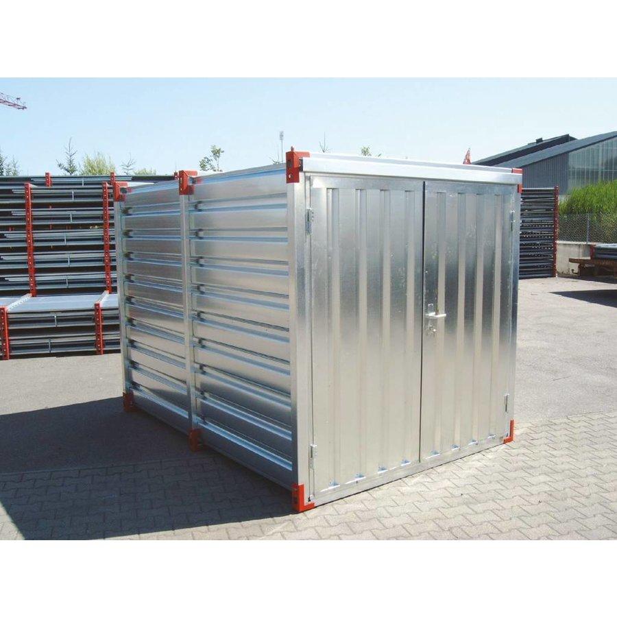 Materiaalcontainer - 3m x 2,2m