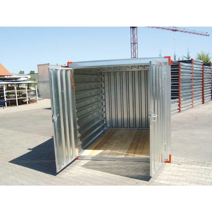 Materiaalcontainer - 4m x 2,2m
