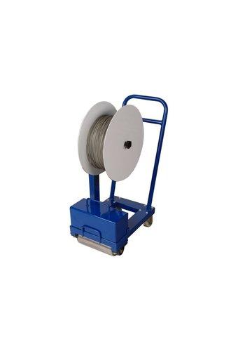 Beton Trowel Transportkar rubberen voegen